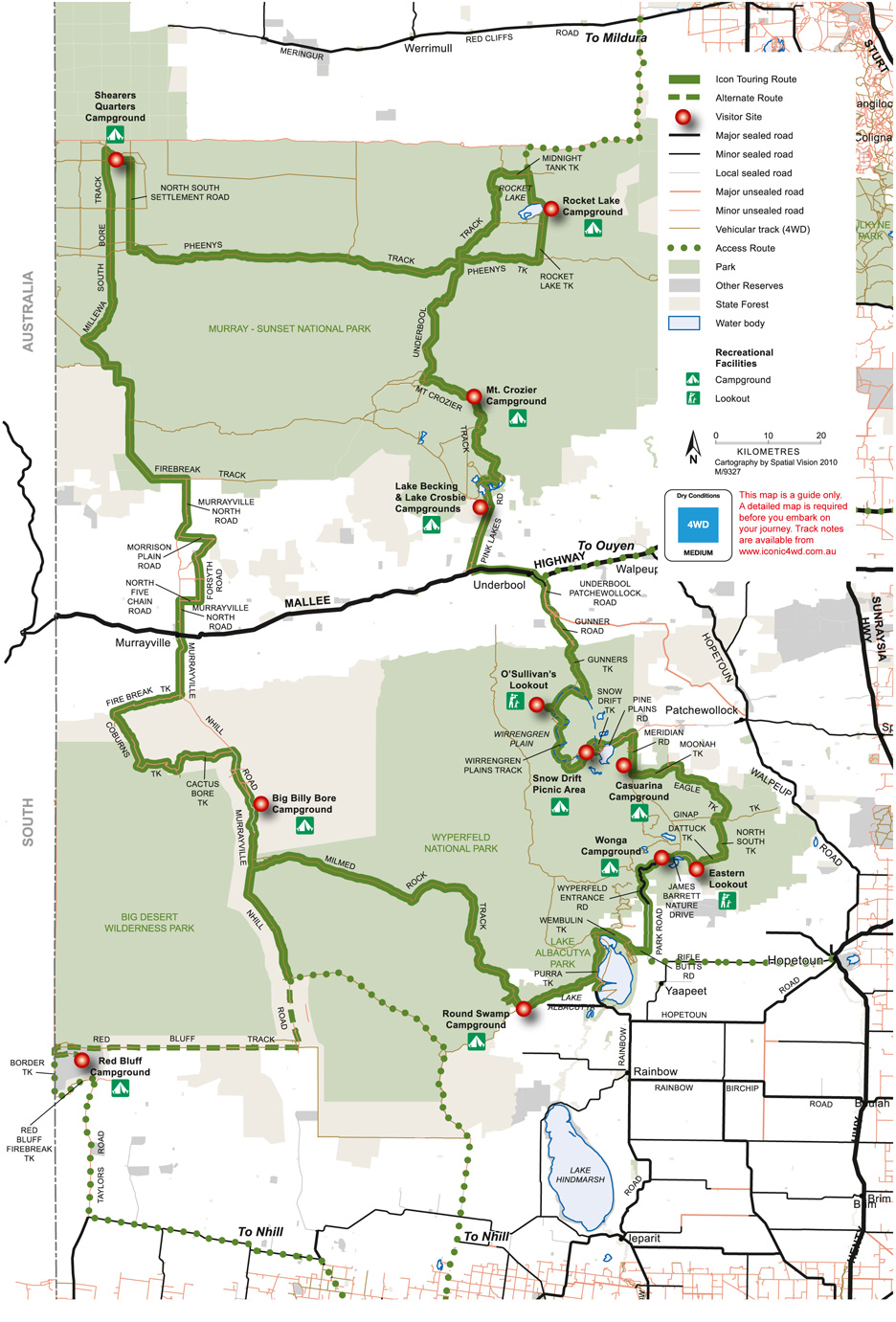 4wd Map Of Australia.Nature And Parks Mallee Landscape Mallee Flowers